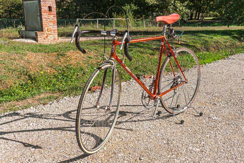 WILIER TRIESTINA RAMATA vintage bike tuscany biking tour