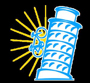 tuscay biking pisa logo