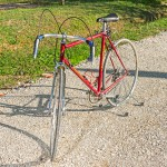 FRANCESCHI ROSSA vintage bike tuscany biking tour