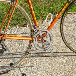 VINER ARANCIO vintage bike tuscany biking tour