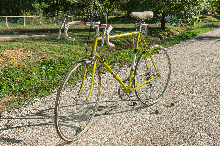 LEGNANO vintage bike tuscany biking tour