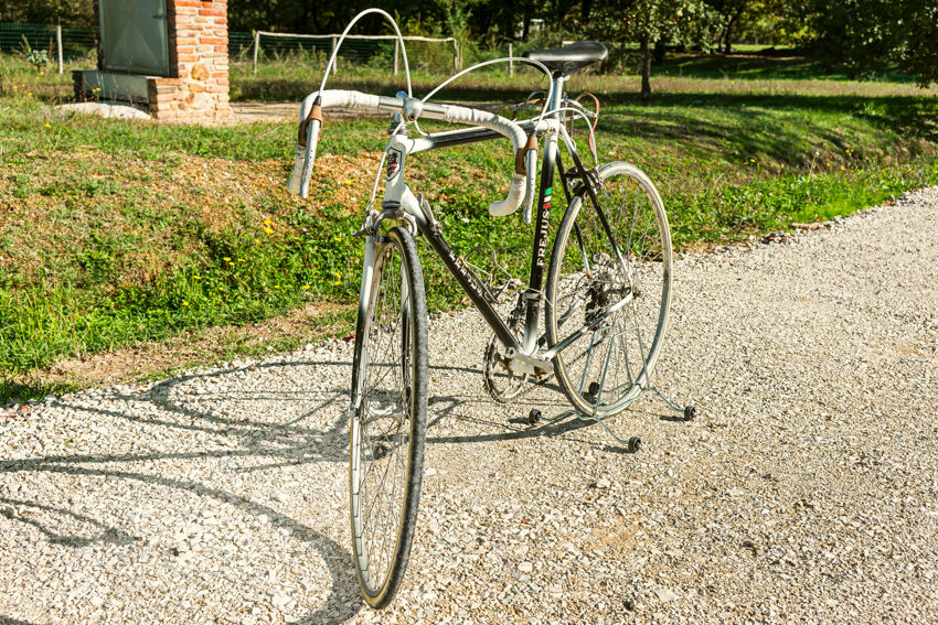 FREJUS vintage bike tuscany biking tour