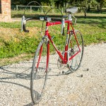 COLNAGO SARONNI vintage bike tuscany biking tour