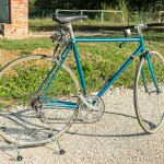 PINARELLO BLU vintage bike tuscany biking tour