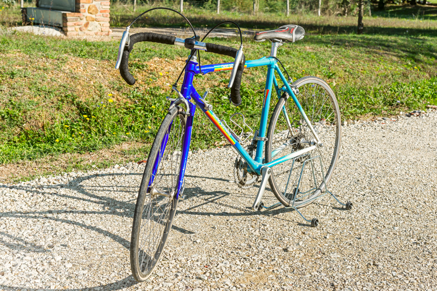 ALAN vintage bike tuscany biking tour