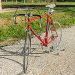 MOSER ROSSA vintage bike tuscany biking tour