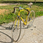 FRANCESCHI GIALLA vintage bike tuscany biking tour