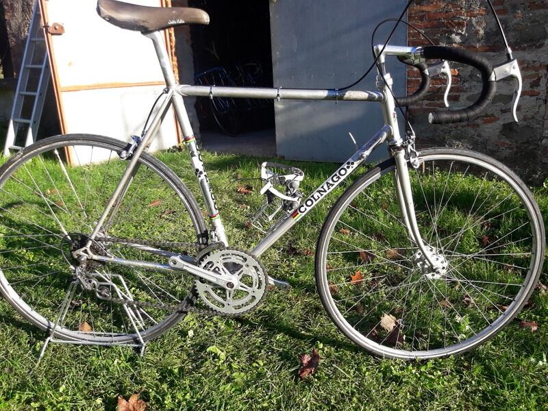 Bicicletta d'epoca - Colnago super grigia