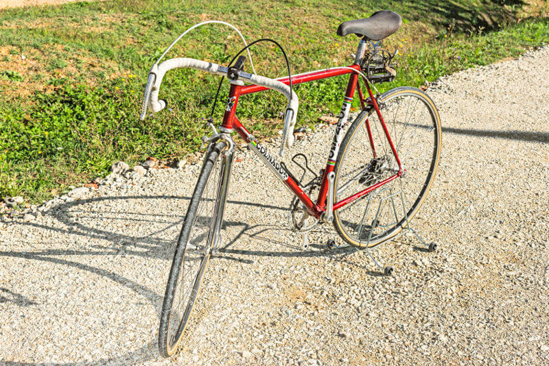 COLNAGO NUOVO MESSICO vintage bike tuscany biking tour